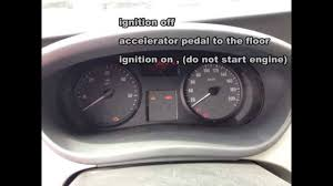 opel movano 2008 opel vivaro service oil light reset how to vauxhall vivaro youtube
