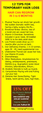12 ways to reverse hair loss