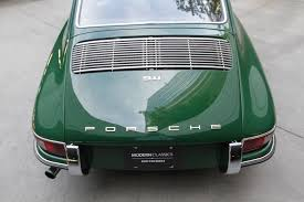 irish green porsche 67 911 modern classic auto sales
