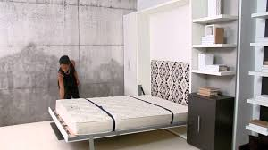 Wall Bed by Ulisse Dining Resource Furniture Wall Bed Systems Youtube
