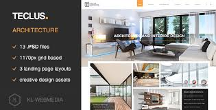 architecture layout design psd teclus architecture psd template by kl webmedia themeforest