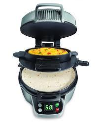 amazon com hamilton beach 25495 breakfast burrito maker silver