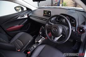 mazda interior 2015 mazda cx 3 stouring petrol review video performancedrive