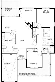 Floor Plans With Porches by Simple Open House Plans Craftsman Floor 1 Story In Design