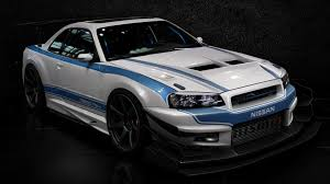 photo collection cars nissan tuning skyline