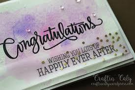 congratulations wedding card congratulations watercolor wedding card craftin caly