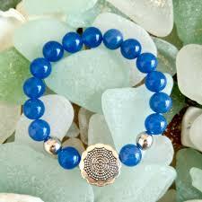 blue bracelet images Charity stone bracelet blue chalcedony shek o dog department jpg