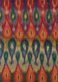 Multi Colored Shag Rug Kaleidoscope Collection Area Rugs By Sphinx