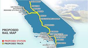 california high speed rail map california high speed rail bilingual weekly