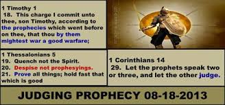 Prophecy Is For Edification Exhortation And Comfort Gifted Part 5 Prophecy The Ability To Receive And Proclaim A