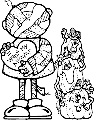 skulls coloring pages for halloween plus skeletons and mummy
