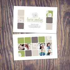 photography business card psd template design rectangles