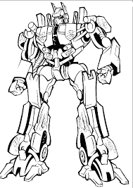 optimus prime transformers coloring pages childhood relived