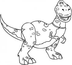 rex toy story coloring pages disney donald duck pictures