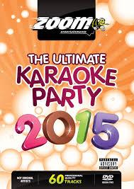 zoom karaoke dvd the ultimate karaoke 2015 60 songs