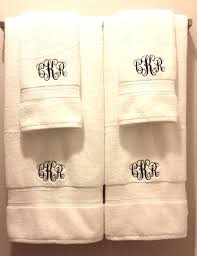 across the avenue qualtry personalized embroidered bath towels