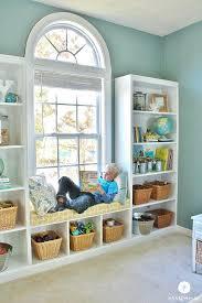 built in window seat window bookshelf built in bookshelves window seat under window