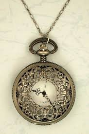 necklace watch vintage images I adore pocket watch necklaces they 39 re such a cute idea women jpg