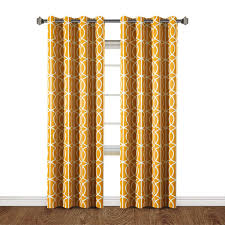 Yellow Patterned Curtains Curtain Ideas Yellow Patterned Curtains Pale Yellow Sheer