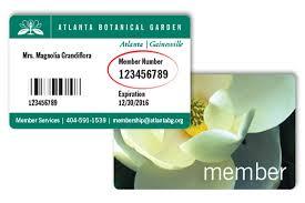 Atlanta Botanical Gardens Membership How To Find Your Member Number Atlanta Botanical Garden