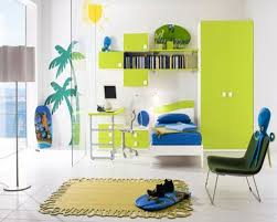 Study Table And Bookshelf Designs Bedroom Contemporary Boys Bedroom Design With Green Study Desk