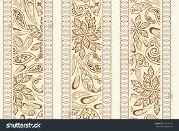 seamless pattern ethnic traditional style abstract stock vector