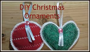 how to sew fabric christmas ornaments kerstmis pinterest