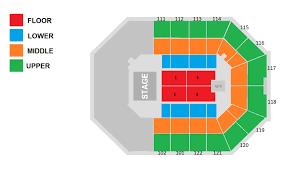 seat map seating chart watsco center