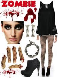 stylish vampire costume fashion without borders zombie fest