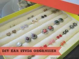 organize stud earrings best 25 stud earring organizer ideas on diy jewelry