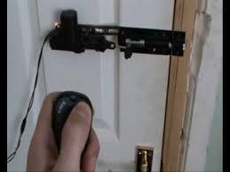 Bedroom Door Locks With Key Car Door Remote Controlled Bedroom Door Lock Youtube