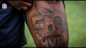 broncos ink miller shares the origin of his tattoos
