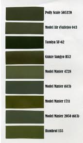 what colour is olive drab finescale modeler essential