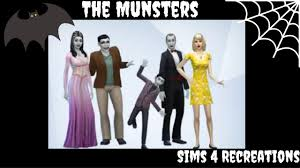 the munsters halloween costumes sims 4 recreations the munsters youtube