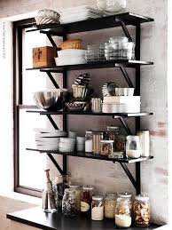 Kitchen Metal Shelves by 62 Best Exposed In The Kitchen Images On Pinterest Kitchen
