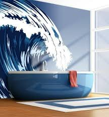Red White And Blue Bathroom 15 Beach Themed Bathroom Design Ideas Rilane Red White And Blue