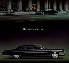 What Is The Ugliest Color Curbside Classic 1973 Cadillac Fleetwood 75 U2013 The Longest