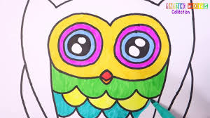 how to draw owl coloring pages drawing ideas for kids and
