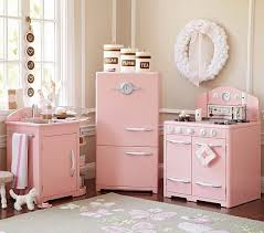 pottery barn kitchen furniture pink retro kitchen collection pottery barn