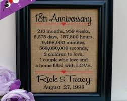 18th anniversary gift sensational 18th wedding anniversary gifts picture ideas digideas
