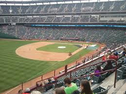 lexus club toronto globe life park section 212 rateyourseats com