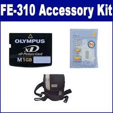 olympus fe 310 digital accessory kit includes xd1gb memory