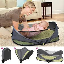 fashion portable baby bed crib handbag simple baby bed bag mother