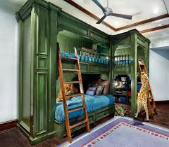 built in bunk beds custom bunk beds kids traditional with beige wall built in bunk