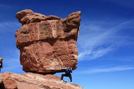 Garden Of The Gods Rock Formations The Amazing Balanced Rock Which Weighs 700 Tons Picture