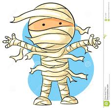 cartoon mummy stock vector image 45115423