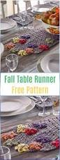 Fall Table Runners by Crochet Table Runner Free Patterns U0026 Tutorials