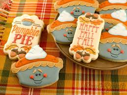 622 best thanksgiving cookies images on fall decor