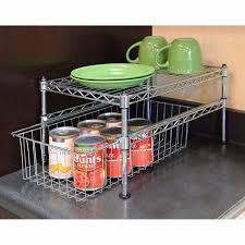 Kitchen Cabinet Organizer Racks Kitchen Cabinet Organizer Rack Bathroom Pantry Storage Basket