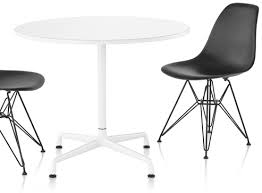 herman miller round conference table table universal base round